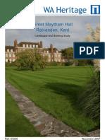 Great Maytham Hall, Rolvenden