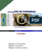 Porosidad para la prospeccion geofisica