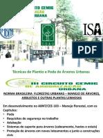 Tecnicas de Podas de Arvores Urbanas_Pedro Mendes Castro