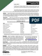 Deery PLS Crack Sealant Product Data Sheet