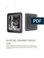 Guia Usuario Tagus Lux