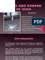 1. Corte por chorro de agua.ppt