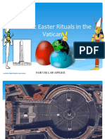 Book-Luciferic Rituals in the Vatican(Easter Sacrifices)