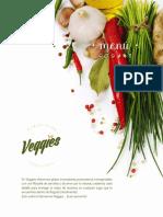 Menu · Veggies · Marzo - 2016