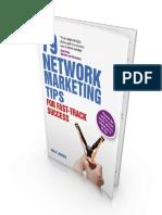 79 Network Marketing Tips