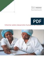 Informe Desarrollo Humegerheano Nestle