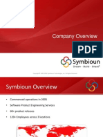 Symbioun_Corporate_Overview