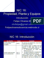 Taller de Normas Internacionales de Contabilidad - NIC 16 Prop.planta y Equipos
