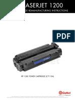 HP 1200 Reman Eng