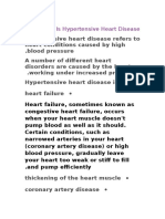 What is Hypertensive Heart Disease