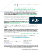 ASAE Scholarly Research in Association Management Grants Program Flyer