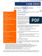 Basel Compliance Solution