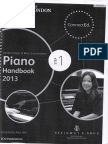 Piano Handbook 2013 - Step 1 - LCM