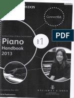 Piano Handbook 2013 - Step 1 - LCM