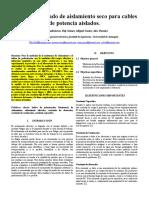 Practica 2 Medida Del Estado de Aislamiento Seco Para Cables de Potencia Aislados