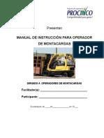 Manual de Operacion de Montacargas