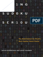 taking Sudoku Seriously