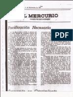 El Mercurio Editorial 1980
