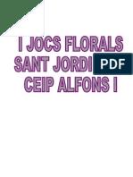 TREBALLS PREMIATS                JOCS FLORALS 2010