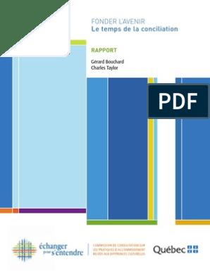 Commission bouchard intégration rapport final integral fr