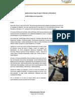 16-03-16 Ruptura de tubo de 24 pulgadas provoca fuga de agua en Morelos y Divisaderos