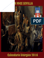 Calendario Liturgico Tradicional 2016.a.d.unavocesevilla