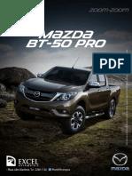 Ficha Tecnica Bt50 Pro