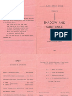 Shadow and Substance Programme