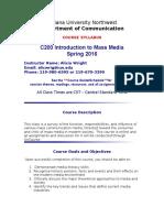 C200 Online Syllabus 2016