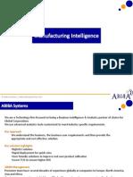 ABIBA Manufacturing Intelligence BI