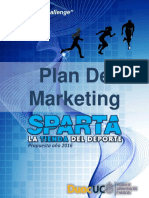 Plan de Marketing Tienda Sparta