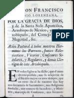 Arzobispo de México Reglas Para Curas