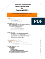 Dubin ECG Reference Sheets