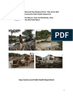 Hays County Flood Survey