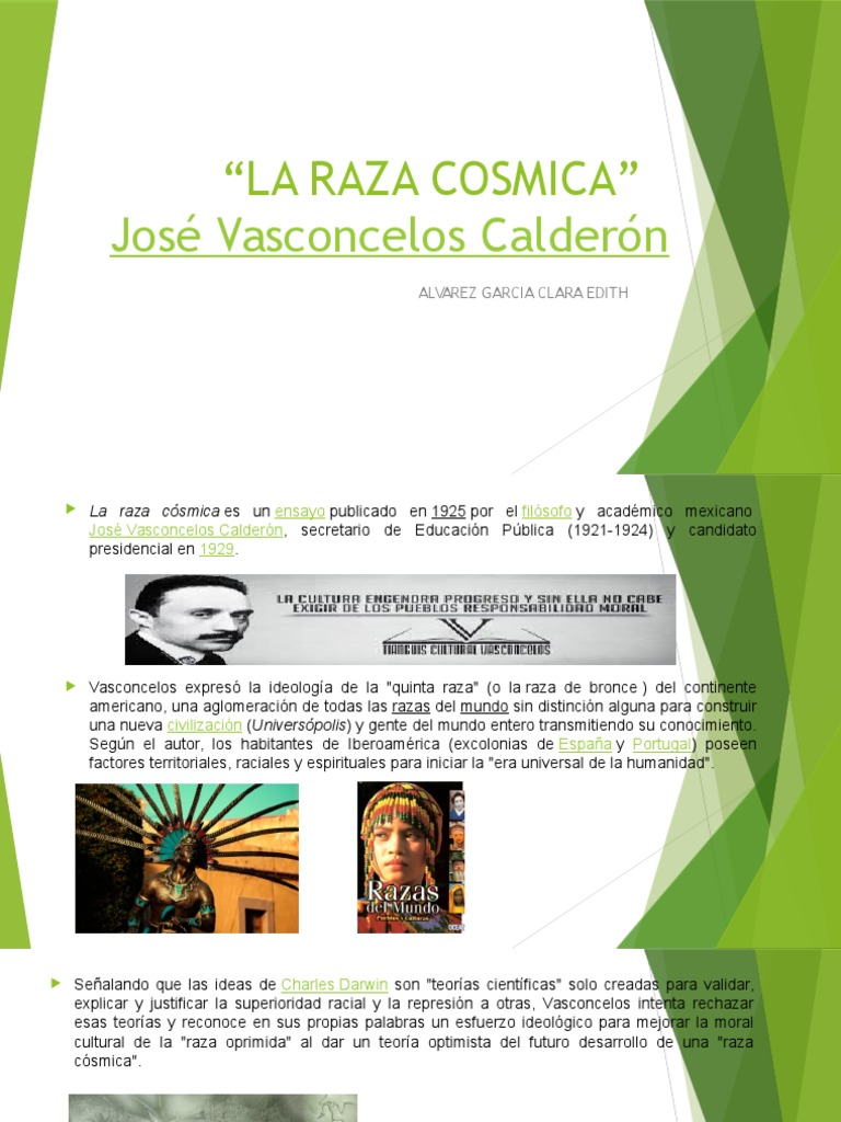 Jose Vasconcelos La Raza Cosmica Epub