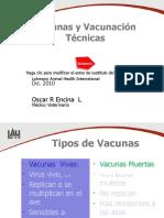 Vacunas y Vacunacion Avipro Dic 2010