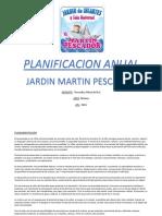 Planificacion Anual Martin Pescador