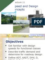 12 Design Speed and Design Traffic