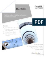Cranfield Silent Edge Report on 8 Sales Types v12