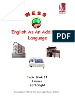 Topic Workbook 11 - Houses, Left & Right