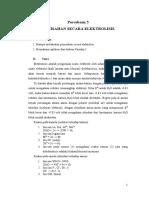 Kimia analitik - Pemisahan Secara Elektrolisis