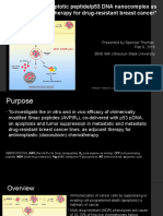 Cell-Penetrating Apoptotic Peptide Research Presentation