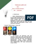Perkembangan Lampu LED