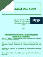 Economía Del Agua 2016