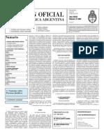 Boletin Oficial 26-04-10 - Segunda Seccion