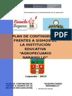 Plan Contingencia Agropecuario-2015
