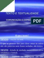3ª Série - Médio Texto e Textualidade