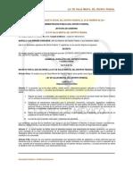 Ley de Salud Mental Del Df 2011
