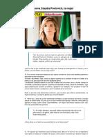 08-03-16 En exclusiva Claudia Pavlovich, la mujer. -El Sol de México
