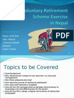 Voluntary Retirement Scheme in Nepal
